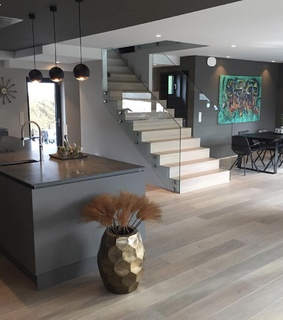 kitchen, interior and home