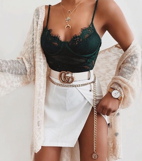 accesories, bralette and bustier