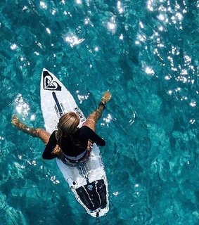 surfboard, surfing and summer