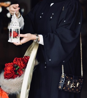louis, vuitton and hijab