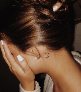 nails, tattoo and little