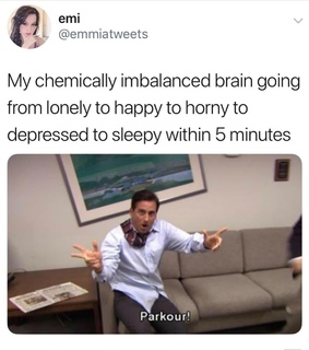 depression, the office meme and anxiety