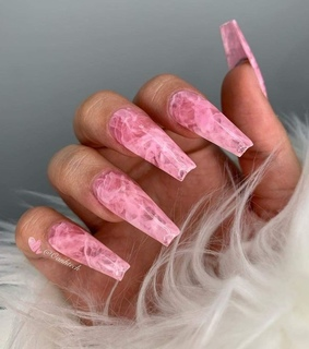pink, nails and ghetto