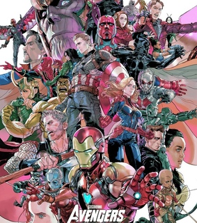Avengers, Marvel and ant man