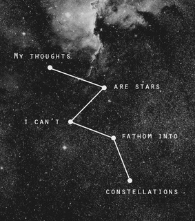 fathom, thoughts and stars