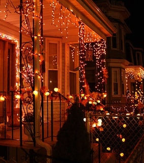 Houses, beautiful and christmas
