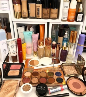 beauty, foundations and makeup collection