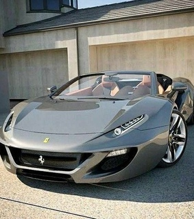 luxury car, ferrari and sportscar