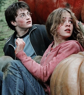 wallpaper, hermione granger and harry potter