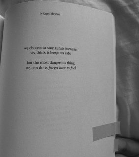 feel, forget and poetry