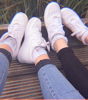 aesthetic, cute and nike