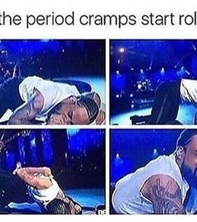 cramps, rolling and meme