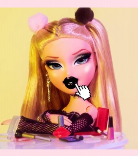 bratz dolls, old school and aesthetics