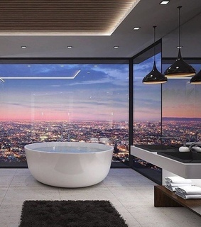 quiet bath, new york and penthouse