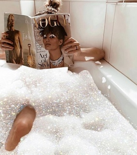 hair, chill and bubble bath
