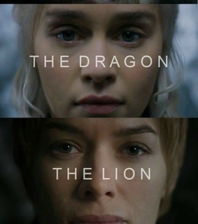 Queen, cersei lannister and dragon