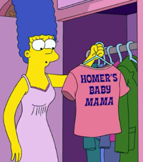 marge simpson, cartoon and tv