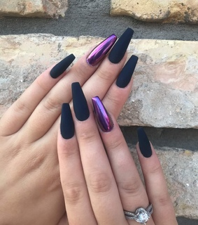 beauty, purple and coffin