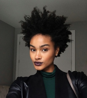 tapered hair, afro hair and natural hair