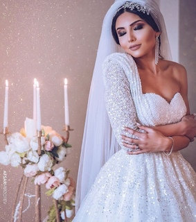 Dream, beauty and bride