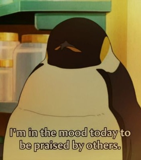 anime aesthetic, anime quotes and pinguin