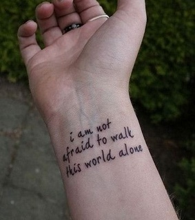 world, quotes and tatuajes