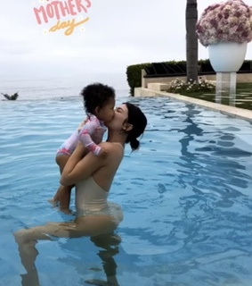 baby stormi, kylie jenner and stormi and luxury life