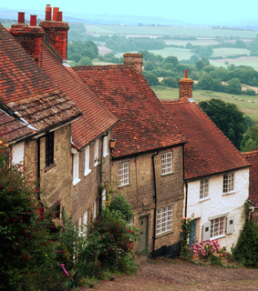 city, cottage and england