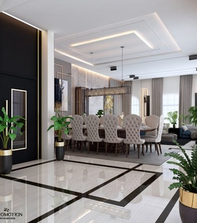 apartment, penthouse and decoration