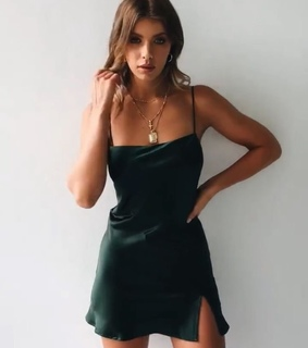 dress, necklace and accessories