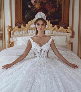 ball gown, dream wedding dresses and crown