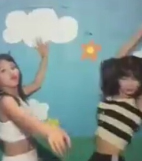 chaeyoung lq, momo and chaengie