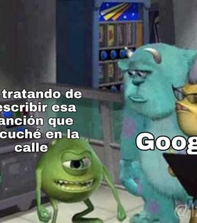 monster inc, meme and musica