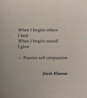 deep, self care and quote