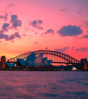 sunset, australie and photographie