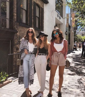friends, cute outfits and fashion