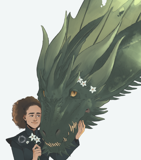 missandei, rhaegal and a song of ice and fire