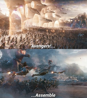 Avengers, Marvel and ant-man