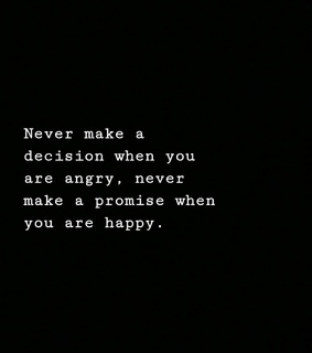 angry, decision and happy