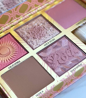 beauty, blusher and bronzer
