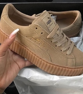 sneaker, brown and camel