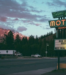 usa, motel and arizona