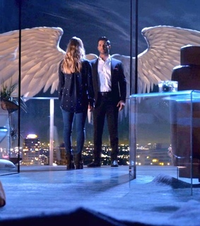 lucifer morningstar, lauren german and lucifer
