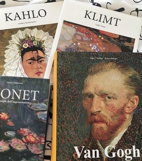 inspiration, monet and kahlo