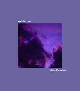 purple theme, aesthetic quote and aesthetic