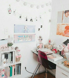 room, bts decor and bt21