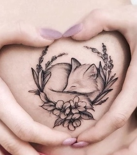tattoo, cute and little