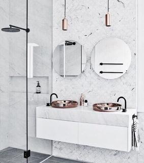 bathroom, interior and white
