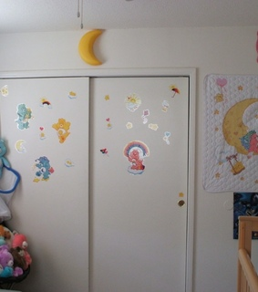 room, soft and care bears