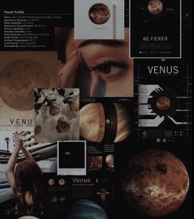 Venus, aesthetic and background
